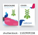 olive brochure flyer design... | Shutterstock .eps vector #1102909238