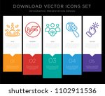 5 vector icons such as customer ...   Shutterstock .eps vector #1102911536