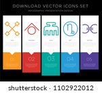 5 vector icons such as gods... | Shutterstock .eps vector #1102922012