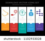 5 vector icons such as... | Shutterstock .eps vector #1102933028
