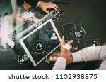 business process management... | Shutterstock . vector #1102938875