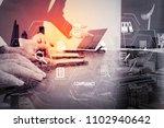 compliance virtual diagram for...   Shutterstock . vector #1102940642