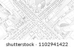 city street intersection... | Shutterstock .eps vector #1102941422
