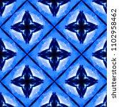 vector tie dye shibori print...   Shutterstock .eps vector #1102958462