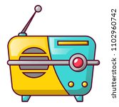 small portable radio icon....   Shutterstock .eps vector #1102960742