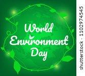 world environment day vector... | Shutterstock .eps vector #1102974545