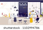 creative office co working... | Shutterstock .eps vector #1102994786