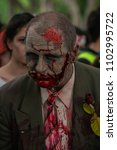 zombie walk sydney australia  2 ... | Shutterstock . vector #1102995722