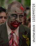 zombie walk sydney australia  2 ... | Shutterstock . vector #1102995725