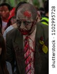 zombie walk sydney australia  2 ... | Shutterstock . vector #1102995728