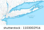 two toned map of long island ... | Shutterstock .eps vector #1103002916