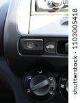 the buttons inside the car. | Shutterstock . vector #1103005418