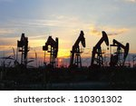 Oil Pumps. Oil Industry...