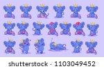 set kit collection vector... | Shutterstock .eps vector #1103049452