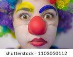 Sad Girl Clown