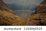 Rainbow In Glencoe  Scotland ...