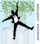 vector illustration of man in... | Shutterstock .eps vector #1103072696