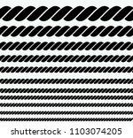 rope vector illustration   Shutterstock .eps vector #1103074205