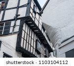 Small photo of Narrow alley known as Grope Lane in Shrewsbury, Shropshire
