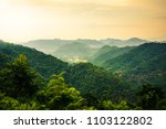viewpoint in khao yai national... | Shutterstock . vector #1103122802