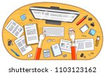 business analysis  office... | Shutterstock .eps vector #1103123162