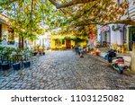 bozcaada island  turkey  ... | Shutterstock . vector #1103125082