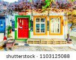 bozcaada island  turkey  ... | Shutterstock . vector #1103125088