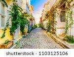 bozcaada island  turkey  ... | Shutterstock . vector #1103125106