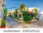 bozcaada island  turkey  ... | Shutterstock . vector #1103125112
