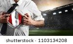 peru soccer or football...   Shutterstock . vector #1103134208
