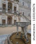 villa d'este  tivoli  lazio... | Shutterstock . vector #1103140676