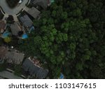 top view aerial drone image of... | Shutterstock . vector #1103147615