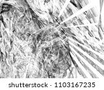 grunge abstract black and white ...   Shutterstock . vector #1103167235