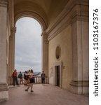 villa d'este  tivoli  lazio... | Shutterstock . vector #1103167376