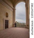 villa d'este  tivoli  lazio... | Shutterstock . vector #1103167382