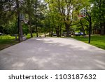basketball court backboard net... | Shutterstock . vector #1103187632