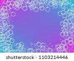cleaning foam on gradient... | Shutterstock .eps vector #1103214446