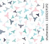 seamless vector pattern with... | Shutterstock .eps vector #1103219192
