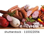 Постер, плакат: Assortment of cold meats