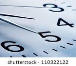 clock. time concept. macro... | Shutterstock . vector #110322122
