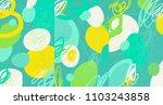creative doodle art header with ... | Shutterstock .eps vector #1103243858