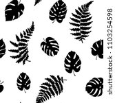 vector botanical illustration... | Shutterstock .eps vector #1103254598