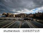 view of edinburghs market... | Shutterstock . vector #1103257115