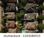 aerial drone image of... | Shutterstock . vector #1103280515