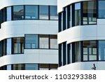 modern office building wall... | Shutterstock . vector #1103293388