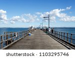 woody point  australia   may 30 ... | Shutterstock . vector #1103295746