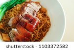 chinese style roasted duck ...   Shutterstock . vector #1103372582
