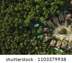 top down aerial drone image of... | Shutterstock . vector #1103379938