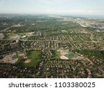 top down aerial drone image of... | Shutterstock . vector #1103380025