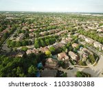 top down aerial drone image of... | Shutterstock . vector #1103380388